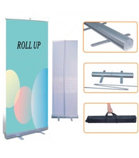 ROLL-UP 0'85X1 mts COMPLERT ECObasic